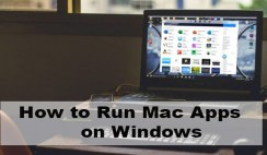 How to run Mac apps on windows 10 PC