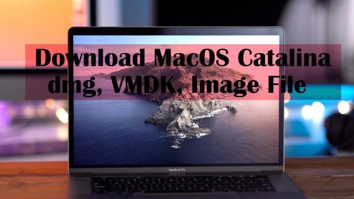 Download MacOS 10.15 Catalina dmg, VMDK, and Image File