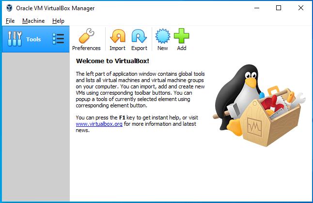 Download and Install Virtualbox on MacOS Catalina