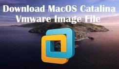 Download MacOS Catalina Vmware Image File