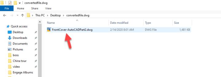 Open-AutoCAD-File
