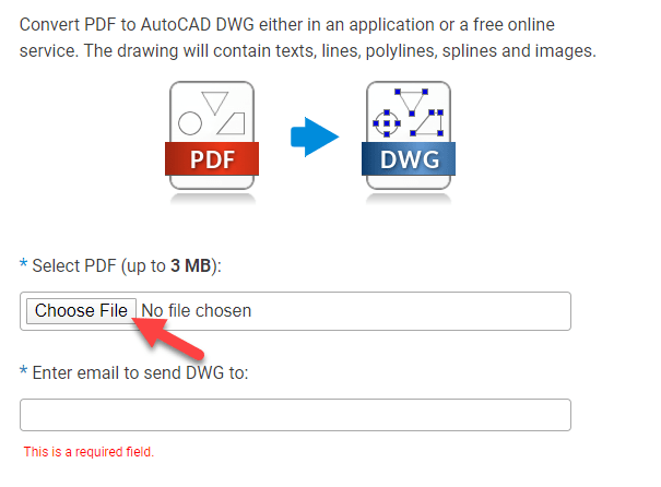 How to Convert PDF to DWG AutoCAD
