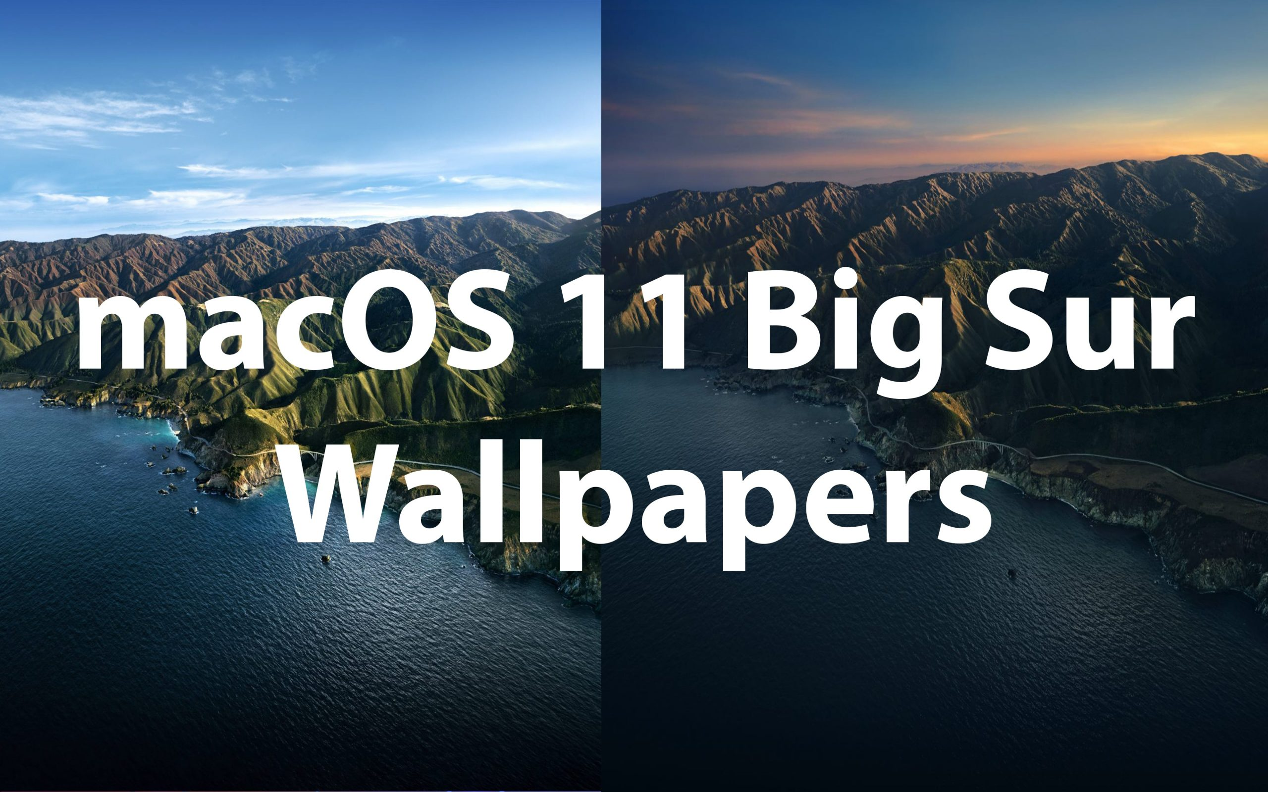 Download Macos Big Sur Hd Wallpapers For Desktop Iphone Ipad
