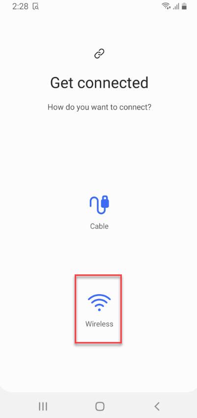 Transfer Data Wirelessly
