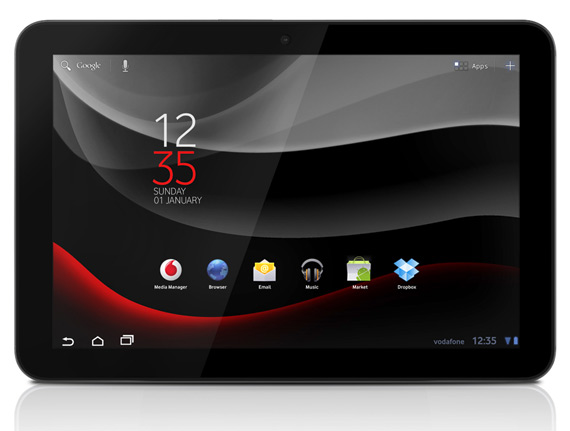 Vodafone Smart Tab 10, Branded tablet με Android Honeycomb