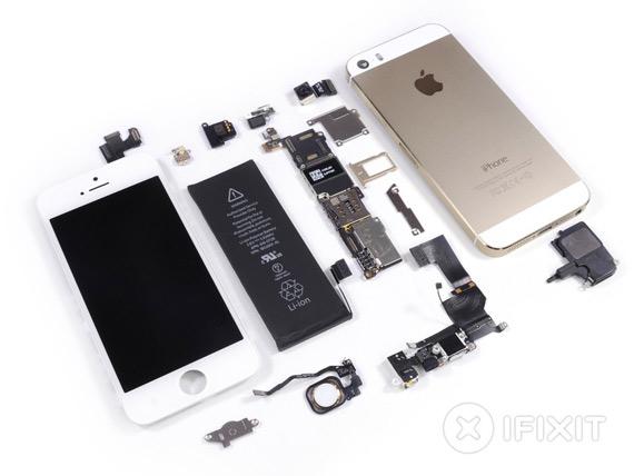 iPhone 5S teardown