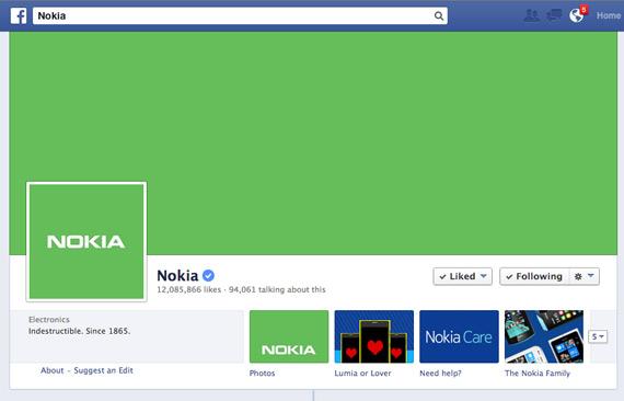 nokia facebook fanpage green-1
