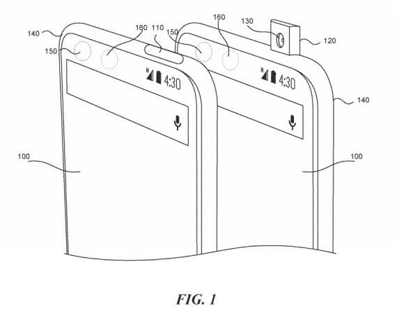 essential pop up camera patent