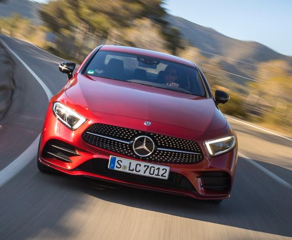 Mercedes-Benz CLS 350 d 4MATIC όση τεχνολογία χρειάζεστε σε ένα αυτοκίνητο
