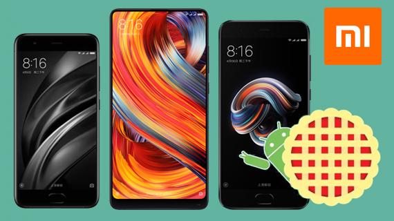 Αναβάθμιση σε Android 9 Pie για τρία smartphone της Xiaomi