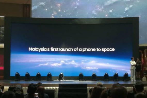 Η Samsung στέλνει τα Galaxy S10 στην στρατόσφαιρα