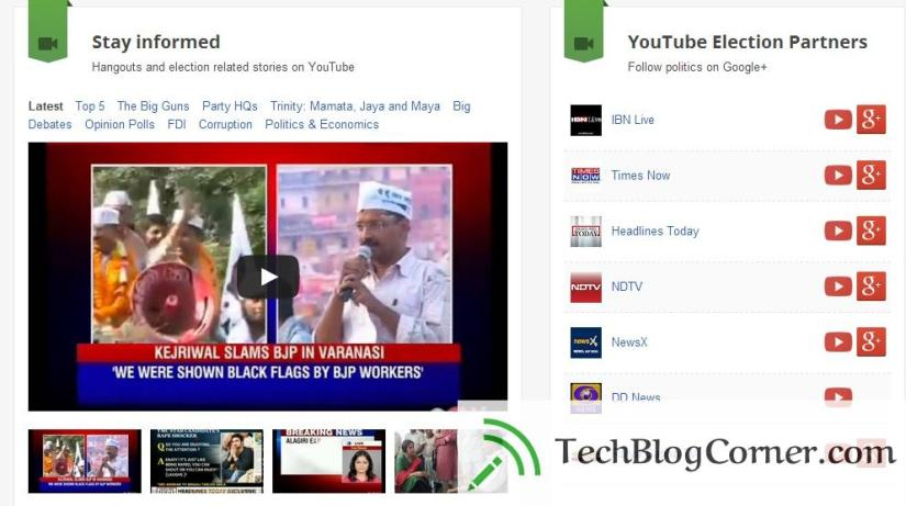 Youtube-eclection-hangout-india