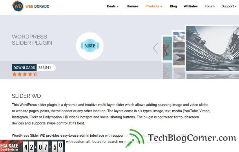 Slider-wd-slider-plugin-techblogcorner