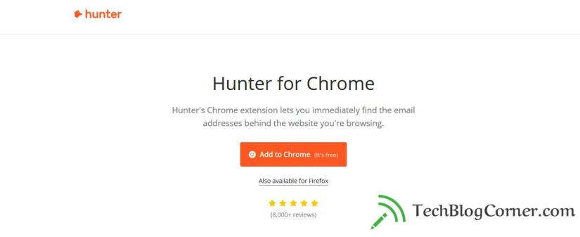 Hunter for Chrome - techblogocorner