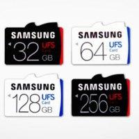 Samsung UFS κάρτες μνήμης: Θα αντικαταστήσουν τις microSD