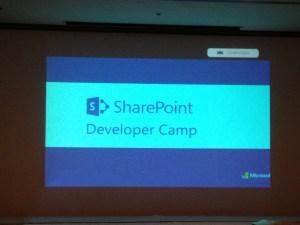 SharePoint Developer Camp Jeddah