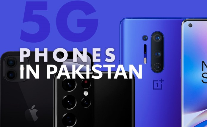 5G smartphones in Pakistan