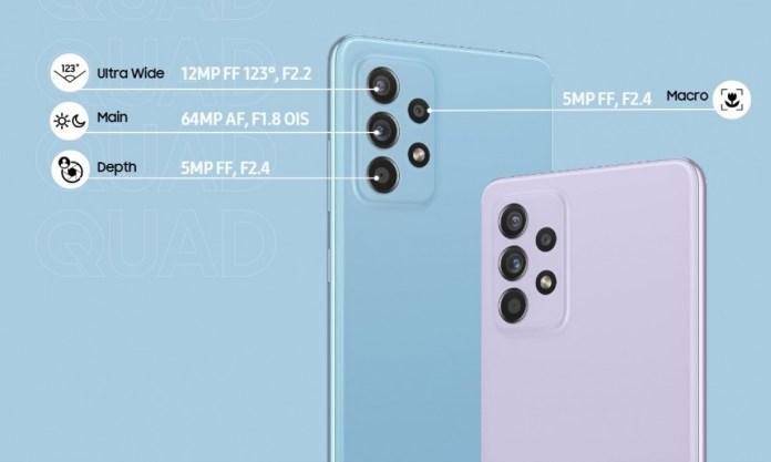 Samsung Galaxy A52 & A72