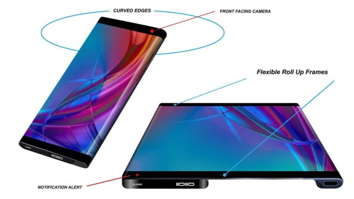 Huawei Mate X rollable