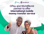 OPay Partners With WorldRemit To Offer International Mobile Money Transfer Service