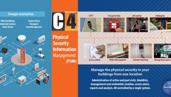 C4 Physical Security Information Management (PSIM)