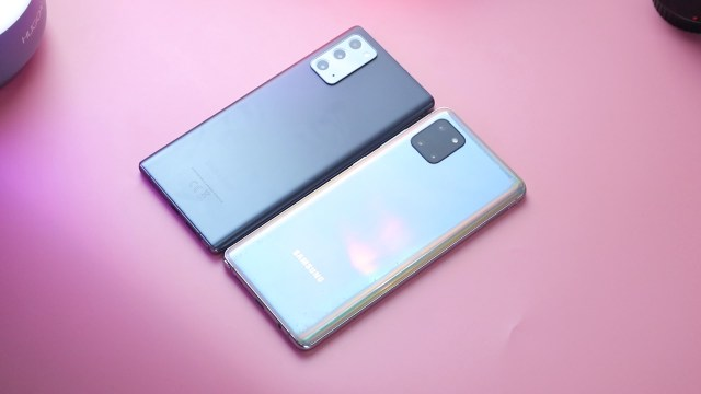 Note 20 and Note 10 Lite