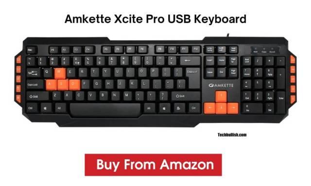 keuboard under 500-Amkette-Xcite-Pro-USB-Keyboard