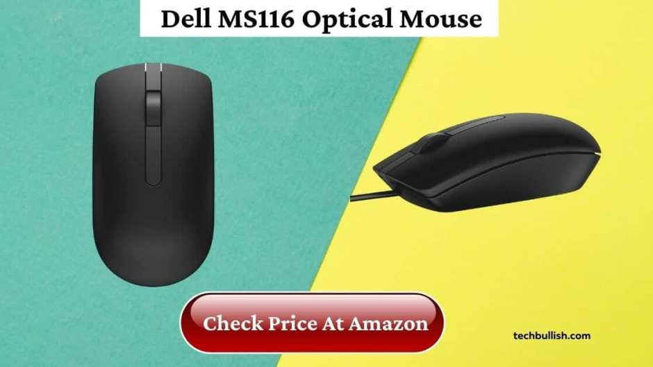 mouse under 500-Dell MS116 Wired Mouse