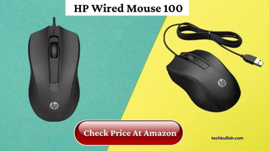 wired usb mouse under 500-HP Wired Mouse 100