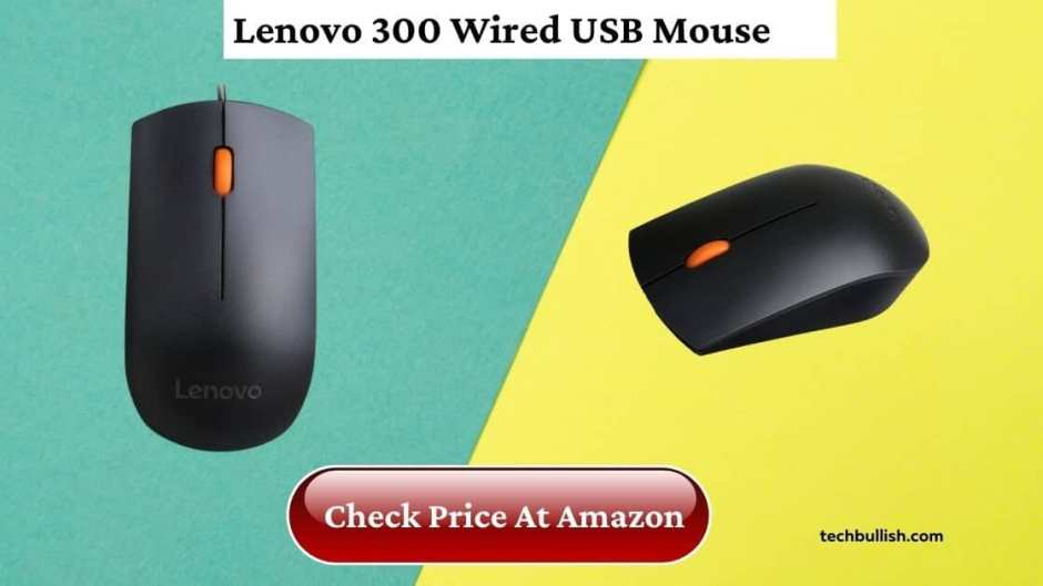 best mouse under 500 in India-Lenovo 300 Wired Mouse review
