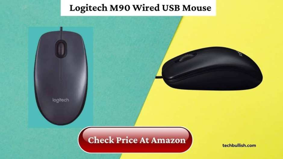 Logitech mouse under 500-Logitech M90 Wired Mouse