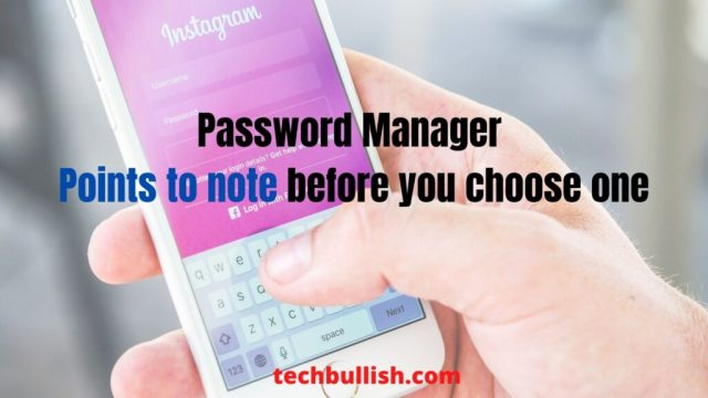password manager pros and cons