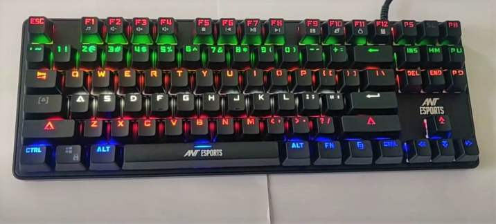 best-mechanical-keyboard-under-3000-Ant ESPORTS-MK1000