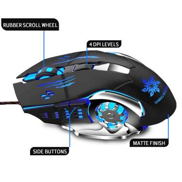 Zing Technologies Wired Gaming Mouse