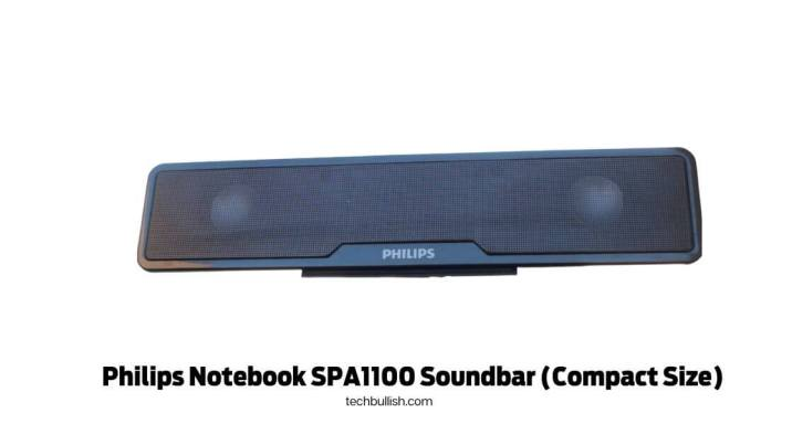 Philips Notebook SPA1100 Soundbar