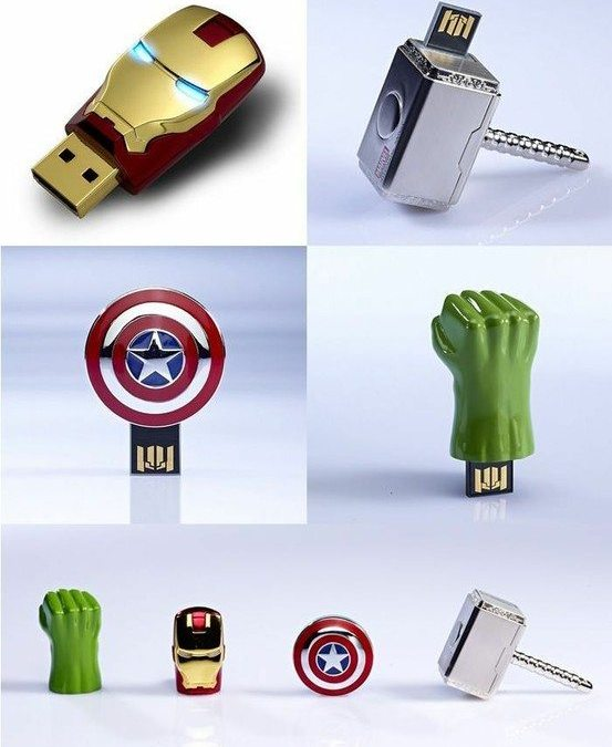 """""""The Avengers"""" – Flash Drives"""