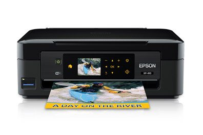 New Epson Expression Home XP-410 Small-in-One Offers Powerful Performance with Complete Wireless Solutions