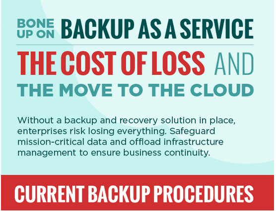 Bone Up On Backup As A Service. The Cost Of Loss & The Move To The Cloud