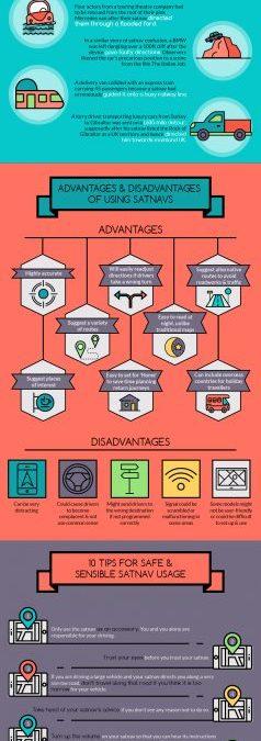 Make Safe & Sensible Use of Your Satnav – Infographic