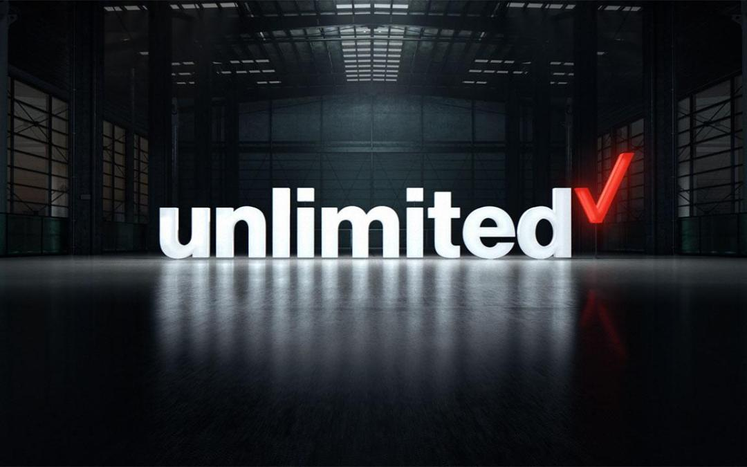 Get unlimited data on the network you deserve: Verizon