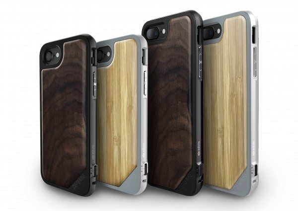 X-Doria Blends Sleek Metal and Real Wood to its Line of Defense Lux Cases for iPhone 7 and 7 Plus
