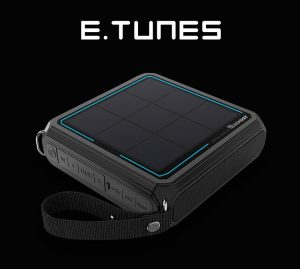 Renogy Unveils E.TUNES, a Splash Proof Portable Bluetooth Speaker with an Integrated Solar Panel