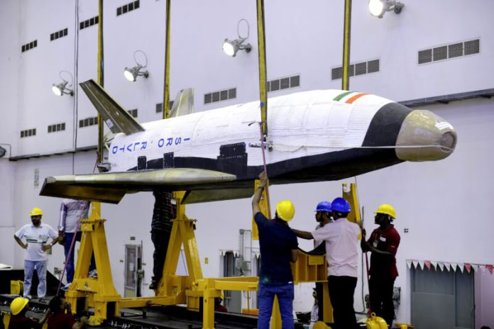 Reusable Space Launch Vehicle by ISRO