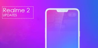 Realme 2 Android Pie 9.0 Update