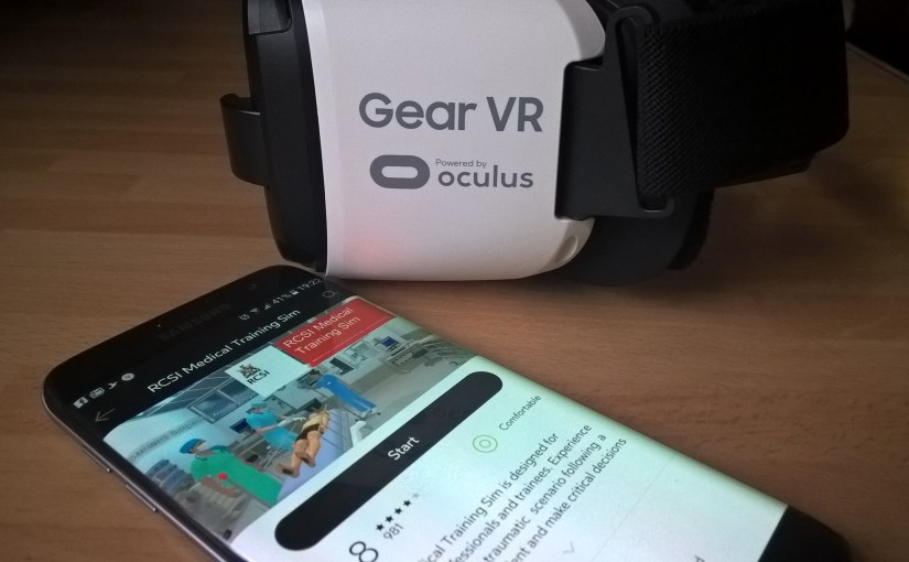 RCSI develops world's first #virtualreality medical training simulator. #VR #Medical