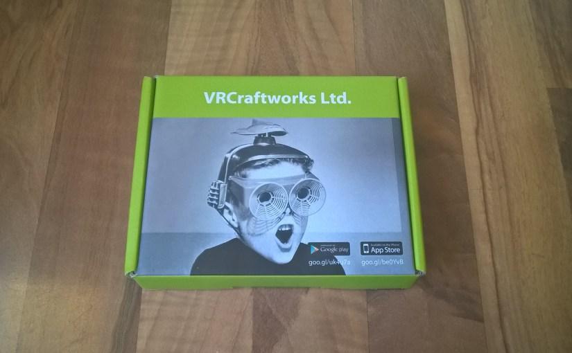 #REVIEW – VR Craftworks cardboard VR viewer from @VRCraftworks #VirtualReality