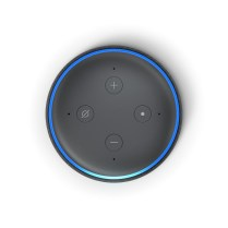 Echo Dot, Charcoal, Top
