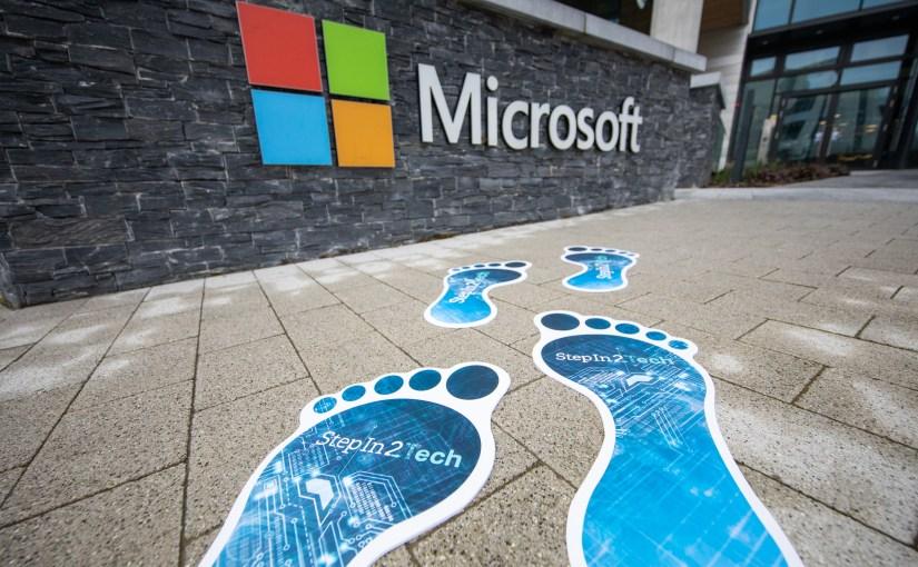 2,500 Learners Take Their First StepIn2Tech on Microsoft's Digital Skills Training Programme #StepIn2Tech