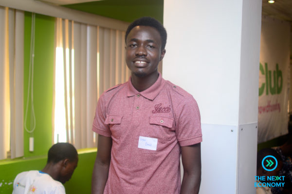 Kitan David, he set up a campaign to fund the establishment of the first innovation hub in Akure Nigeria.