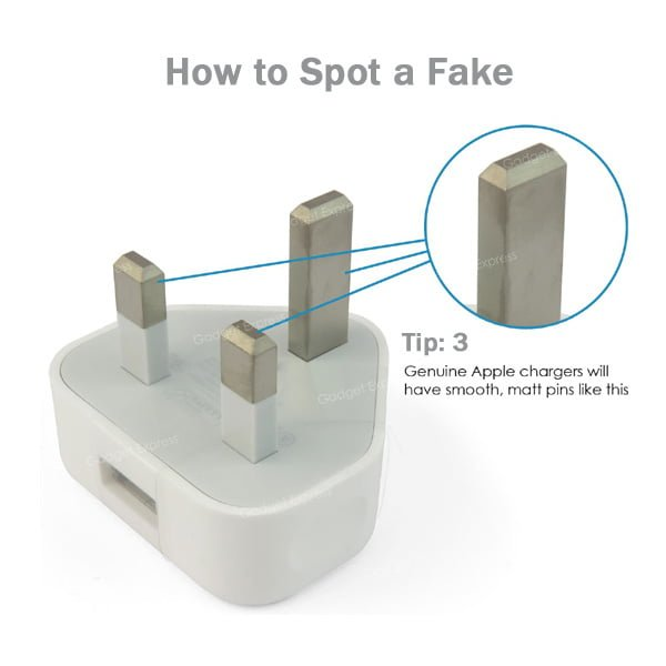 Genuine Apple Charger for iPhone Image